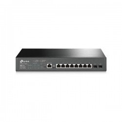 TP-LINK T2500G-10MPS 8-Port Gigabit L2 Managed PoE Swirch WITH 2 SFP Slots